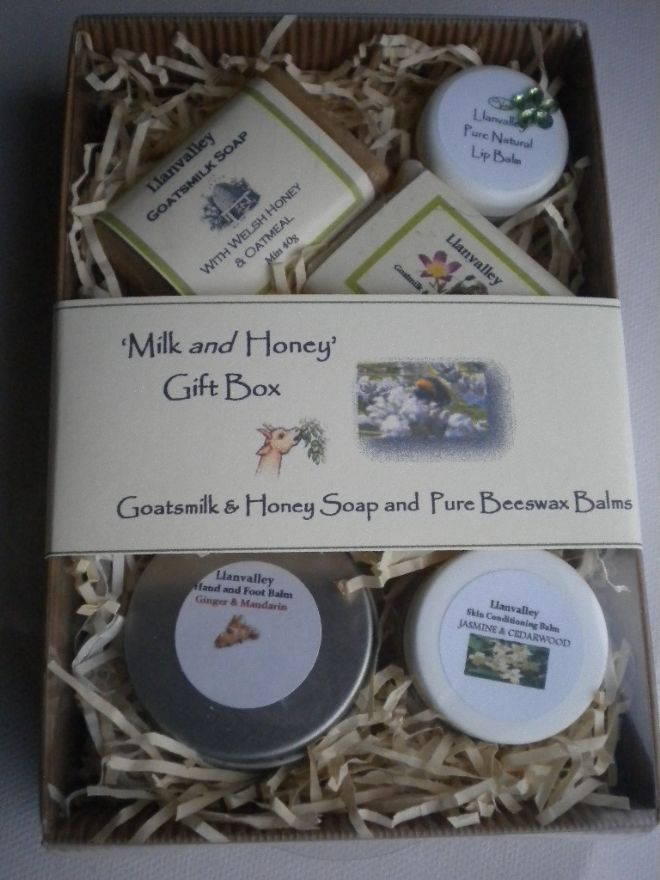 'Milk and Honey' Gift Box
